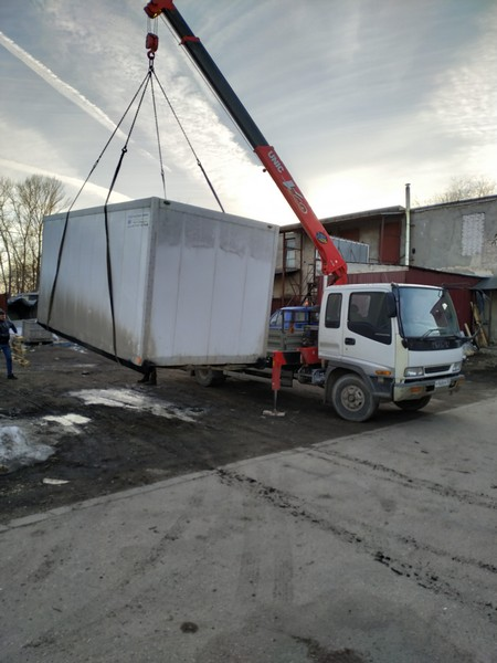 isuzu forward манипулятор